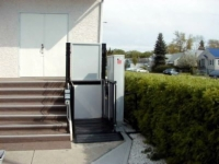 Atlas Commercial Vertical Wheelchair Lift