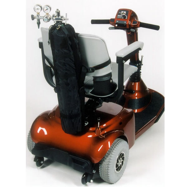 Oxygen Tank Holder for Scooters & Power Wheelchairs
