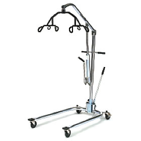 Hoyer Chrome Hydraulic Lifter with 6 Point Cradle