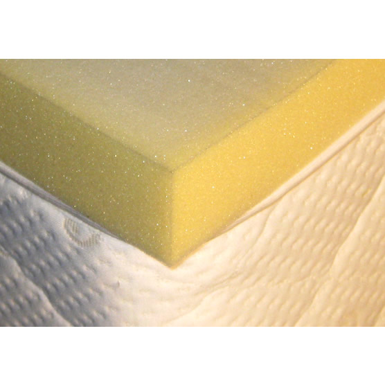 Sleep Innovations Dual Layer 4 Memory Foam Mattress Topper Queen | Bed Mattress Sale
