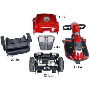 Golden Technologies Companion Midsize 3 Wheel Mobility