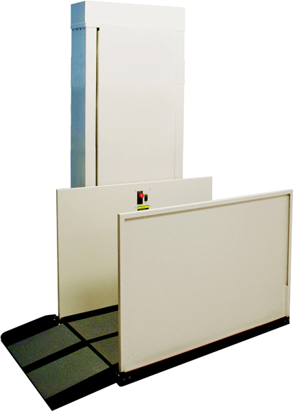 Hercules II 600 Commercial Vertical Wheelchair Lift - RECON