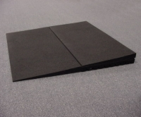 "Rubber Threshold Riser, Box of 2 (2.25"" height)"