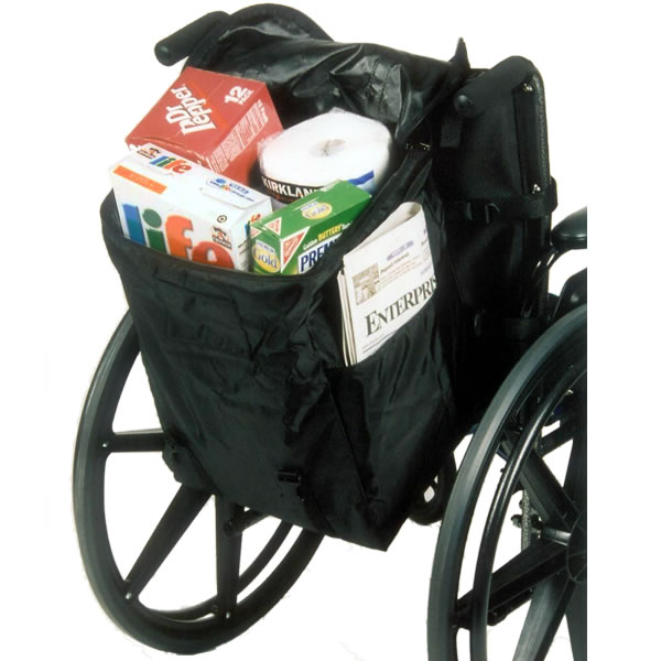 Monster Seatback Bag For Power Wheelchairs And Mobility