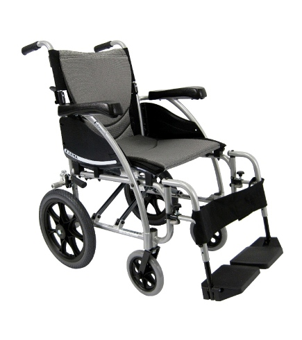 Karman Ergonomic Transport Wheelchair 115-TP