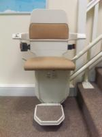 Factory Reconditioned Used Curved Stairlift
