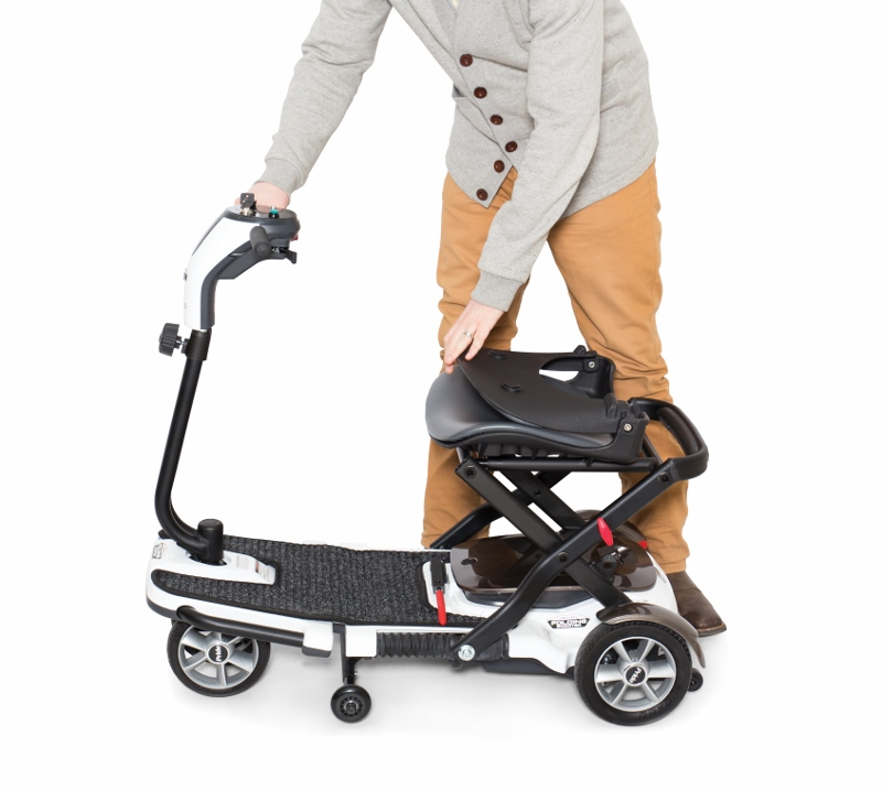 Pride Mobility Scooter >> Pride Go-Go Folding Mobility Scooter