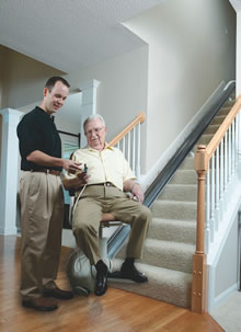standing stair lift. Stair Lifts Main Standing Stair Lift