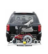 Hitch Mounted Vehicle Lifts