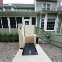 Hercules II 600 Residential Vertical Wheelchair Lift