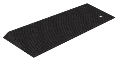 "Rubber Beveled Threshold Ramp (1.5"" height), Box of 2"