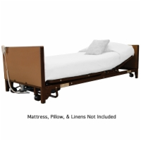 MedLite Full Electric Lightweight Homecare Bed with Low-Rise