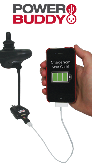 Power Buddy Electronics Charger For Power Wheelchair