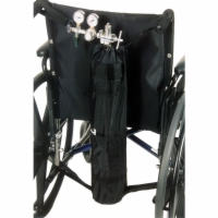 Oxygen Tank Holder for Manual Wheelchairs