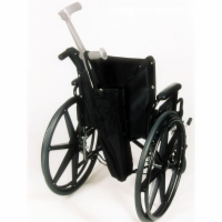 Crutch Holder for Manual Wheelchairs