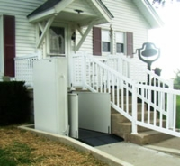 Wheelchair Lifts in Action