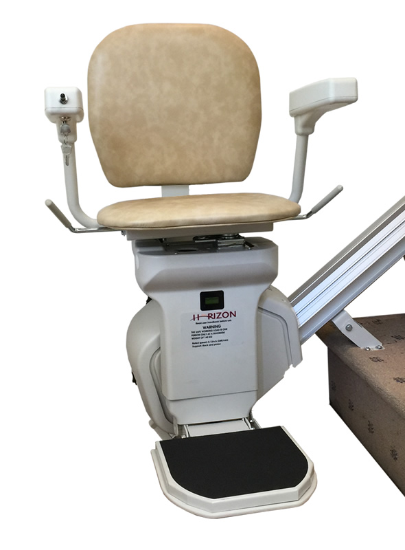 AmeriGlide Horizon Standard Stair Lift-Factory Reconditioned